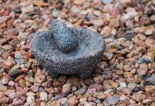 pietra fossile nell'arredamento